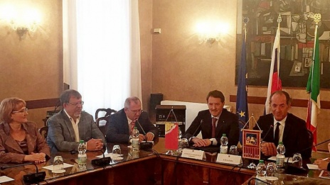 Head of Voronezh Region signs cooperation agreement with President of Veneto