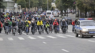 First International Bike Festival in Voronezh