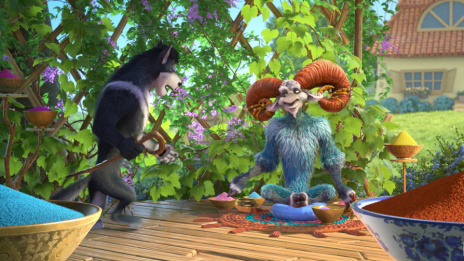 "Sequel to Voronezh cartoon ""Sheep and Wolves"" is marked out at film fair in USA"