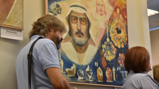 Exhibition of religious paintings by creator of Monument of Glory opens in Voronezh