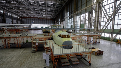 Production of 3rd and 4th Il-112V begins In Voronezh