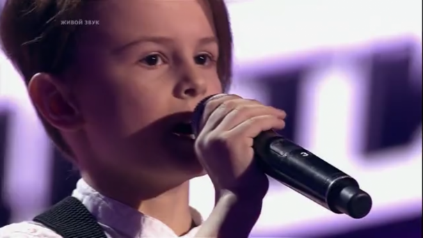 Voronezh boy cries at The Voice Kids show