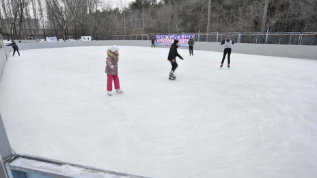 121 skating rinks to be organized in Voronezh in winter of 2018/2019