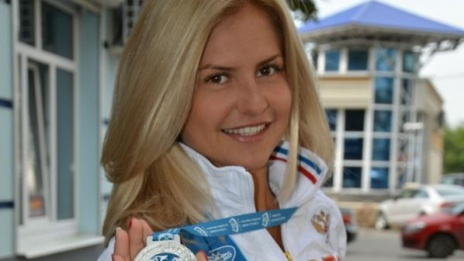 "Voronezh female athlete wins ""bronze"" in Russian Underwater Sports Cup"