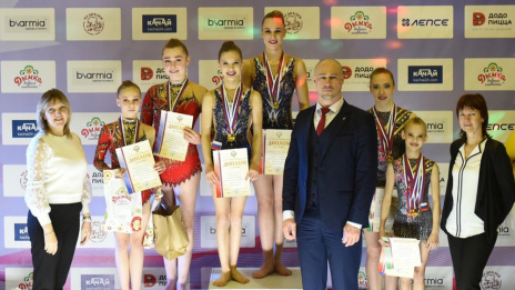 Voronezh acrobats to represent Russia at world championship