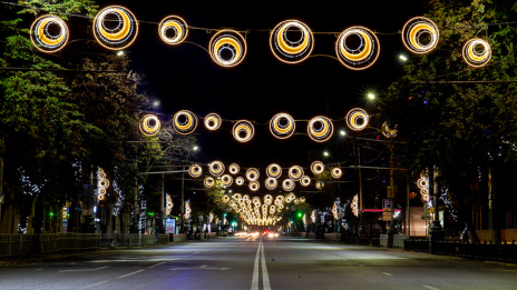 Festive illumination may appear in 5 more streets of Voronezh
