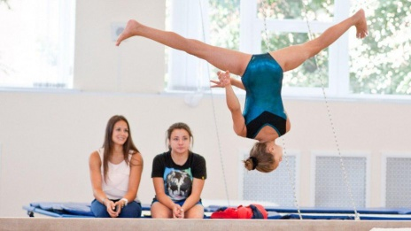 "Voronezh female gymnast wins ""silver"" at all-Russian Student Olympics"