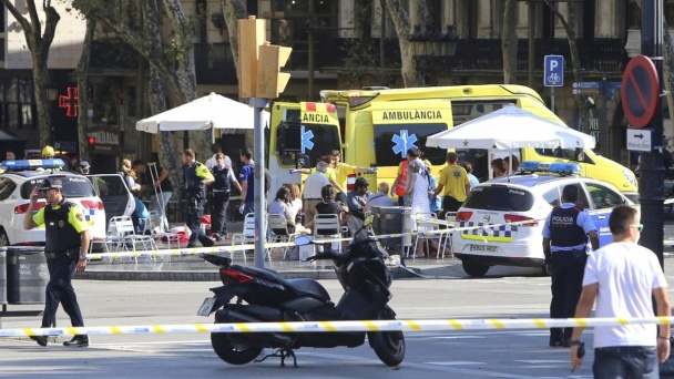 Guide from Voronezh witnesses terrorist attack in Barcelona