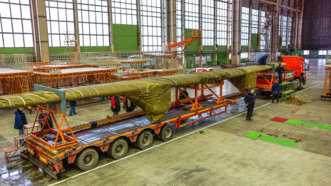 Voronezh Aviation Plant transfers elements of second Il-112V prototype for tests