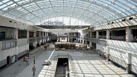 Reconstruction of Central Market in Voronezh to be completed in late August