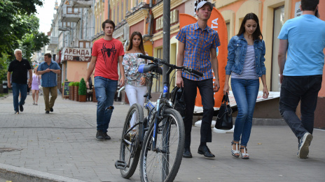 Voronezh enters top 10 of most cycling cities in Russia and CIS