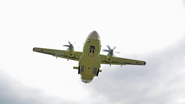 Il-112V aircraft performs its first flights in Voronezh