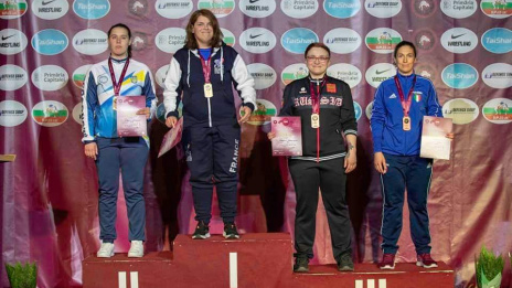Voronezh athlete wins bronze medal of European Grappling Championship