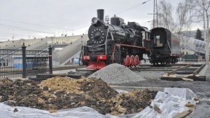 Steam Train Monument to Open in Voronezh