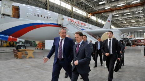 Dmitry Rogozin in Voronezh announces creation of long-range aircraft