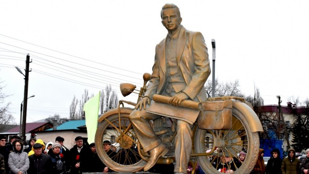 Monument in honor of Slovenian inventor Jacques Jacobin opens in Voronezh Region