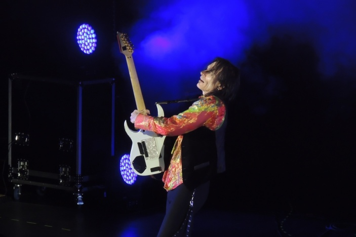 Legendary Steve Vai plays in Voronezh